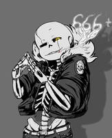 Gaster!Sans - Thank you! by v0idless