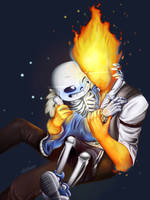 Sansby by v0idless