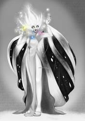 White Diamond by v0idless