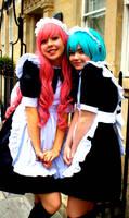 Luka and Miku: Maids