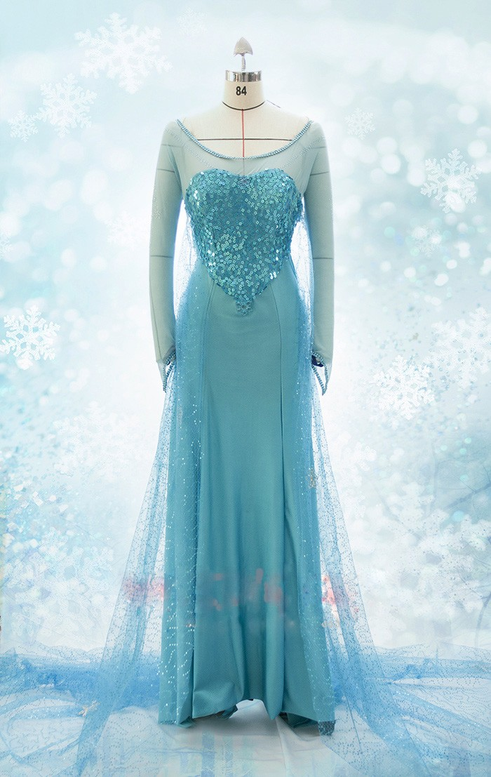 Frozen Cosplay Elsa Fancy Dress Costume B 2 by Jessical1 ...