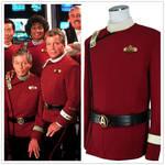 Star Trek Wrath of Khan Cosplay Starfleet  Uniform