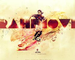 Zlatan Ibrahimovic-wallpaper by abo-amoud
