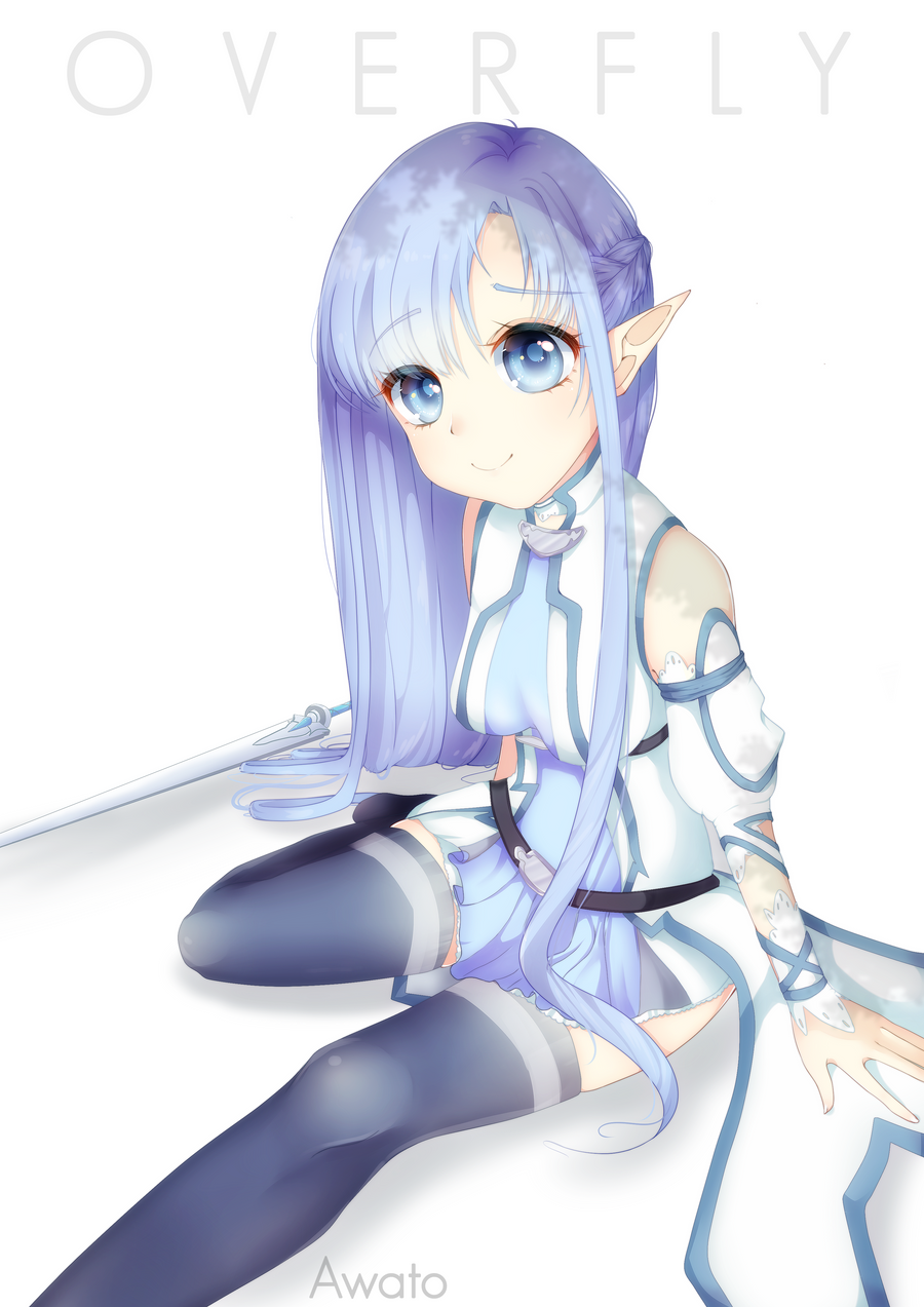 sao wallpapers asuna blue hair - photo #24