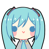 Free To Use Miku Hatsune Icon by Awato