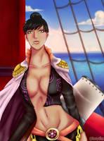 One Piece - Rindo member of Kuja's pirates fanart