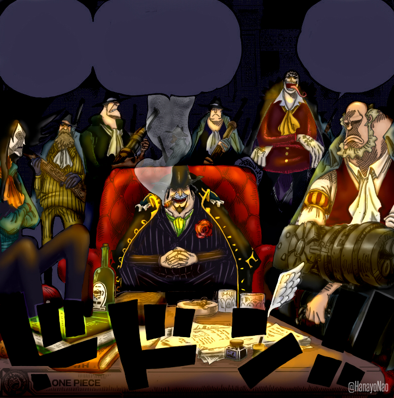 Chatter For Theories On One Piece: Capone And His Gang By Hanayo-Nao On