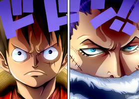 One Piece 878 - Before the fight coloring by Hanayo-Nao