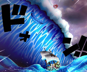 One Piece 880 - A soul in the sea coloring