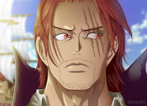 One Piece 957 - Shanks's wanted coloring