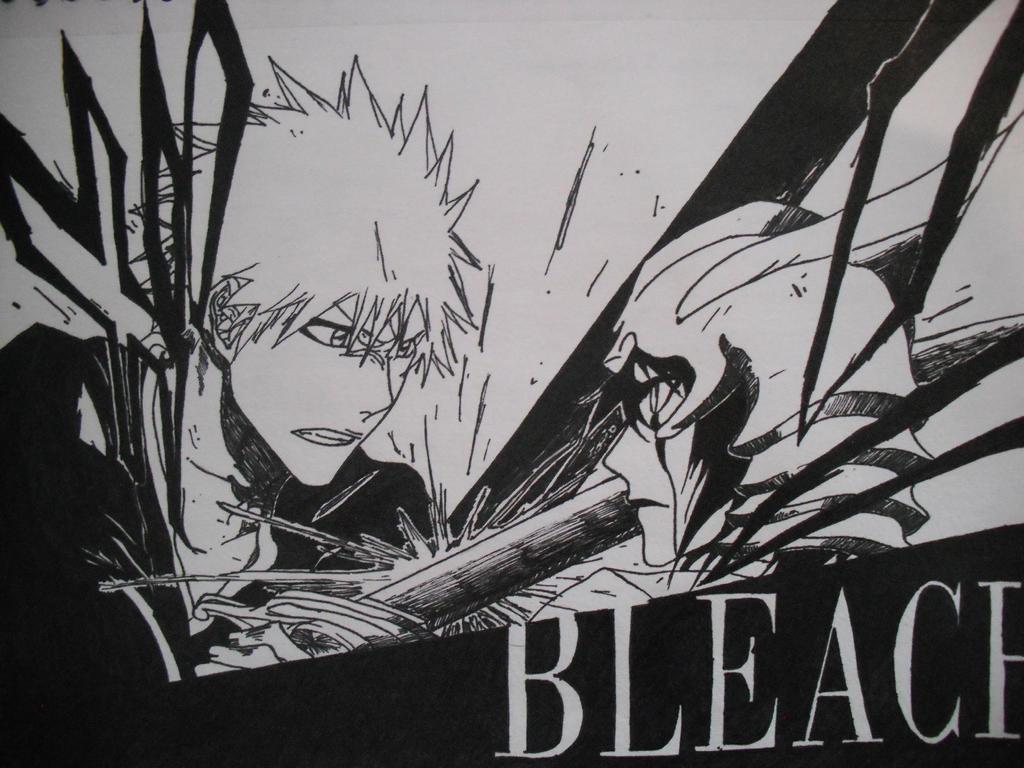 Bleach Ichigo Vs Ulquiorra By XXxBuriedAlivexXx