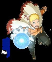 [Render] Naruto Uzumaki   Boruto by DakuDesigner