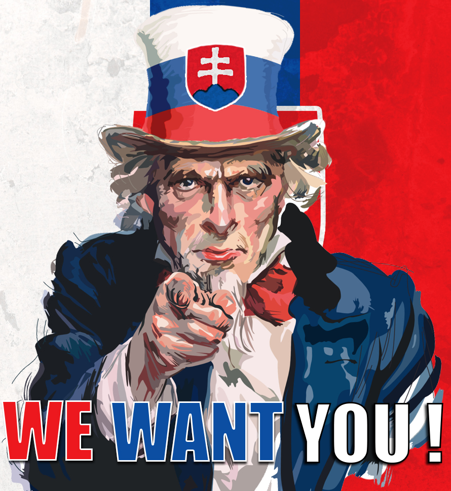 Poster We Want You Slovakia By Patres10 On Deviantart