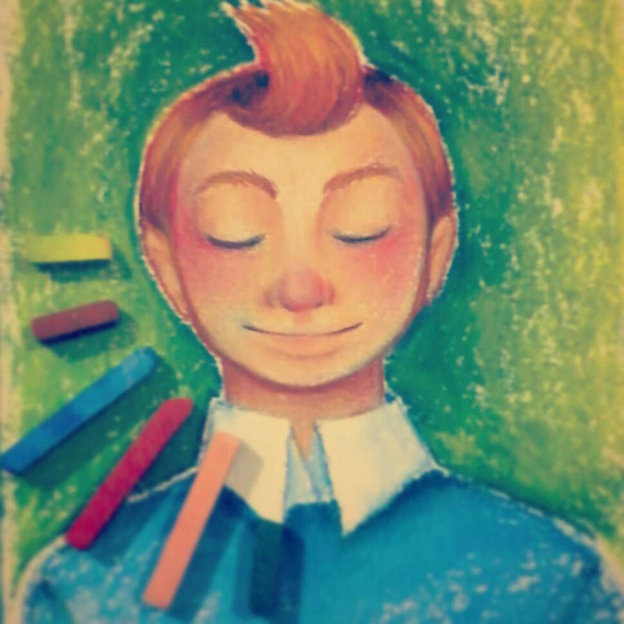 Dreaming Tintin by RaPoSa7