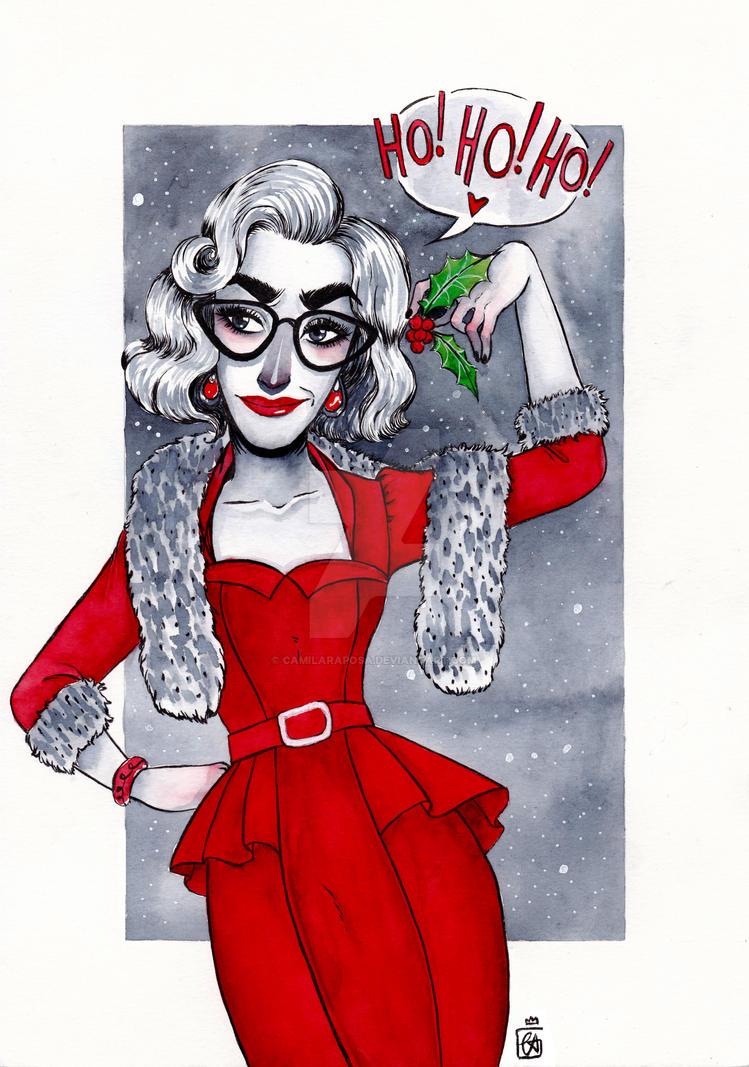 Ho, ho, ho! for Andrew - Commission by CamilaRaposa