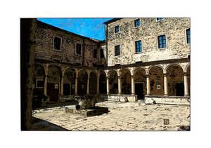 Monastere franciscain color