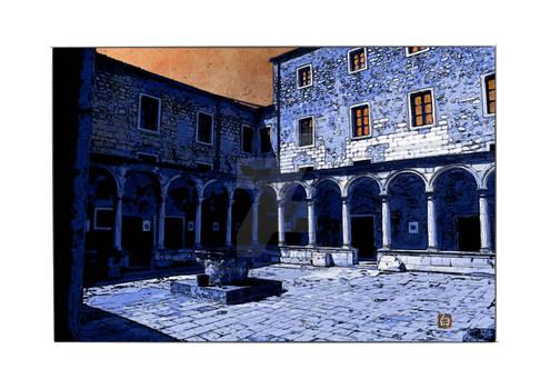 Monastere franciscain night