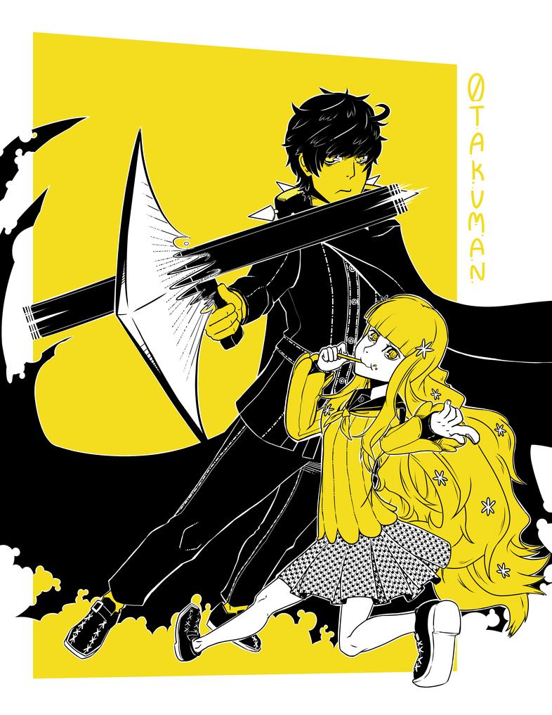 Rei and Zen in Gold by 0takuman