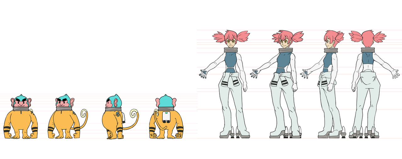 Character designs from April by 0takuman