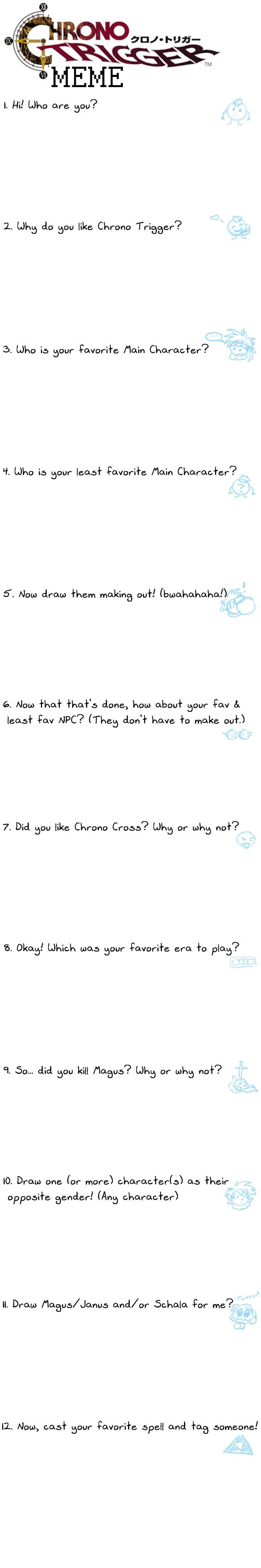 Chrono Trigger Meme by vaiya