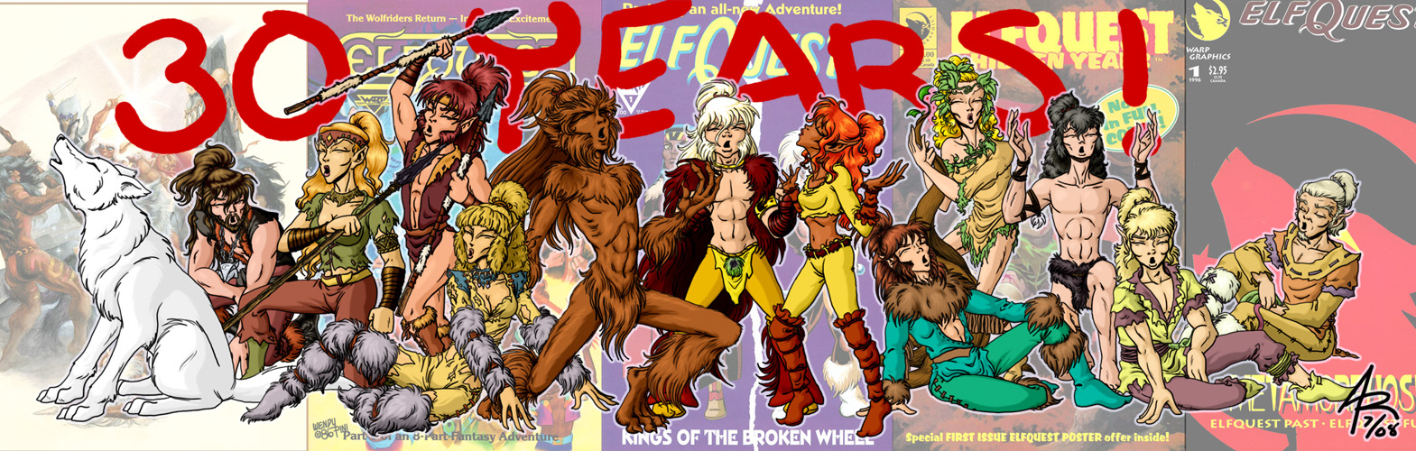 Elfquest: 30 years by vaiya