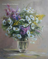 Bouquet of wild flowers by Lidmar