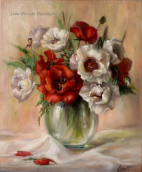 Flowers - Poppies by Lidmar