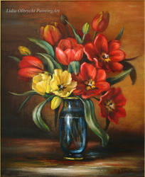 Flowers-Tulips by Lidmar