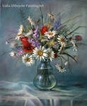 Camomile / daisies - wild flowers in a vase