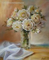 Garden Roses by Lidmar