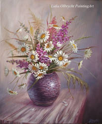 Daisys in a Vase by Lidmar