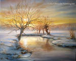 Winter landscape - Willows