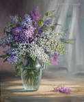 Flowers Lilacs by Lidmar