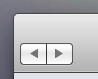 mac os x navigation buttons on windows 7 by LazyLaza