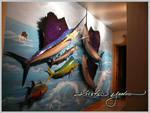 sailfish mural complete