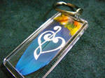 Feather Painting Keychain 41