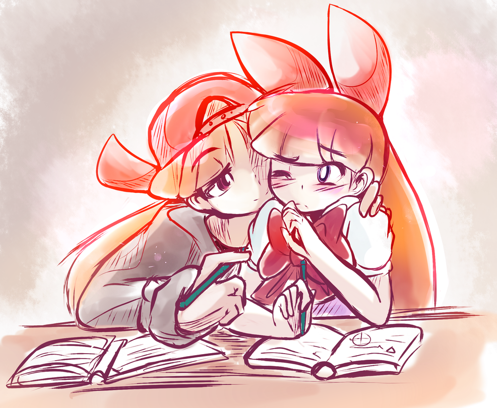 This is why I can't study with you by KazunaPikachu