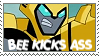 Bee Kicks Ass by higher-flyer