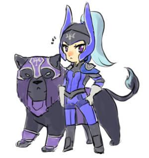 Dota2 - Chibi Luna