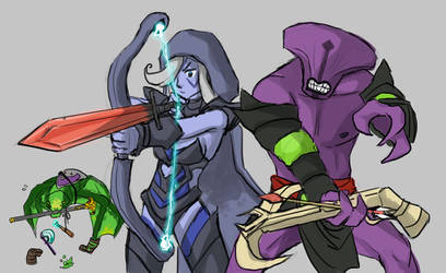 Dota2 - Weapons, How to use them by spidercandy