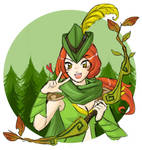 Dota2 - Huntress of the woods