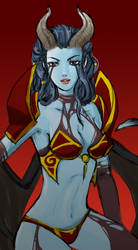 Dota2 - Queen of pain by spidercandy