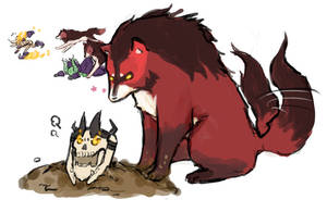 Dota2 - Bad Lycan! by spidercandy