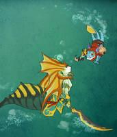 Dota 2 - Under da sea by spidercandy