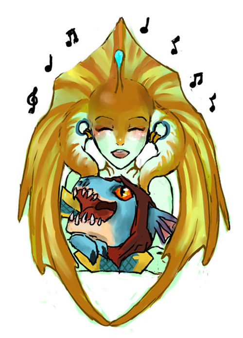 Dota 2 - sing em a sweet lullaby siren by spidercandy