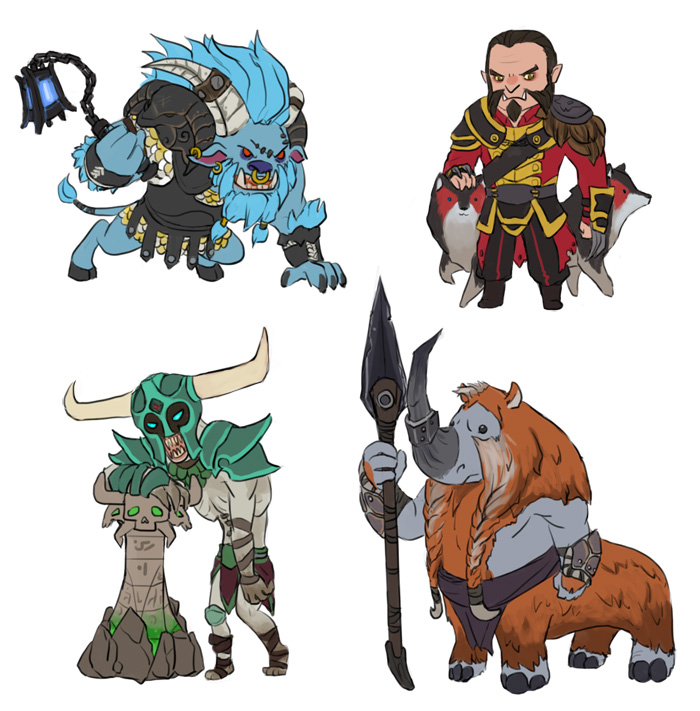 dota 2 mini dire str heroes part 2 by spidercandy on deviantart
