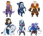 Dota 2 - Mini Radiant AGI heroes