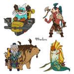 Dota 2 - Mini Radiant AGI heroes part 3