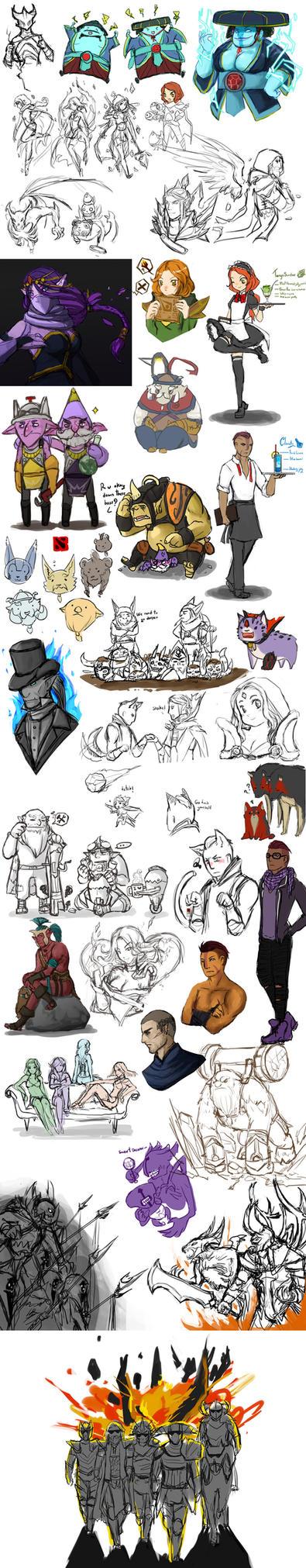 Dota 2 Skeleton King Comic
