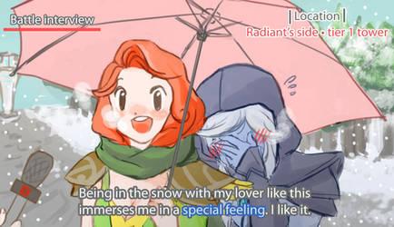 dota 2 snow lover meme